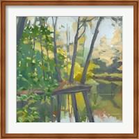 Wooded Pond Fine-Art Print