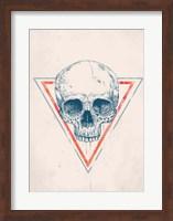 Skull in Triangle No. 2 Fine-Art Print