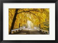 Bridge to Fall III Fine-Art Print