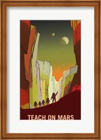 Teach on Mars Fine-Art Print
