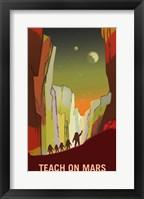 Teach on Mars Fine-Art Print