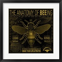 Anatomy 0F Bee-Ing Fine-Art Print