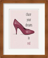 Chase Your Dreams In Red Fine-Art Print