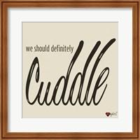 Snuggles and Cuddles I Fine-Art Print