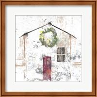 Christmas House Fine-Art Print