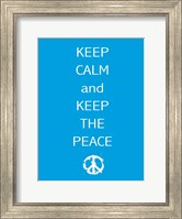 Keep Calm Fine-Art Print