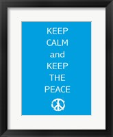 Keep Calm Fine-Art Print