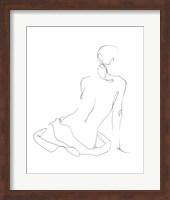 Gestural Contour I Fine-Art Print