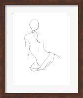 Gestural Contour II Fine-Art Print