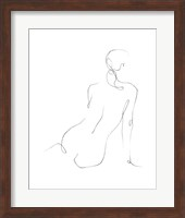 Gestural Contour III Fine-Art Print