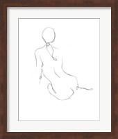 Gestural Contour IV Fine-Art Print