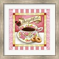 Tea Delightful Pink Teacup Fine-Art Print