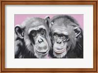 Loving Chimps Fine-Art Print