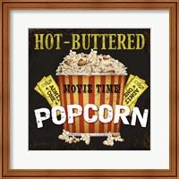 Hot Buttered Popcorn Theater Art Fine-Art Print
