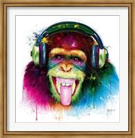 DJ Monkey Fine-Art Print
