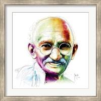 Gandhi - I Am Love Fine-Art Print