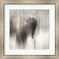 Antique Wildlife Buffalo Fine-Art Print