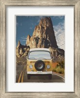 Across the Desert in Yellow Fine-Art Print