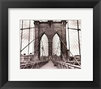 Brooklyn Bridge - sepia Fine-Art Print