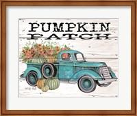 Pumpkin Patch Truck Fine-Art Print