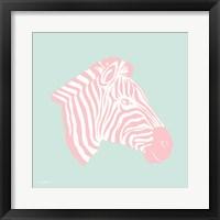 Sweet Pink Zebra Fine-Art Print