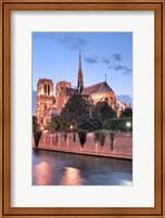 Notre Dame at Dusk Fine-Art Print