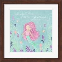 Mermaid and Octopus I Fine-Art Print