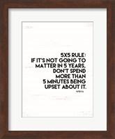 5x5 Rule Fine-Art Print