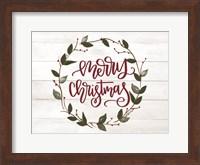Christmas Wreath Fine-Art Print