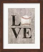 LOVE Baseball Fine-Art Print