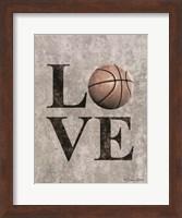 LOVE Basketball Fine-Art Print