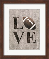 LOVE Football Fine-Art Print