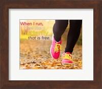 When I Run I Feel Like a Butterfly Fine-Art Print