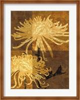 Golden Mums II Fine-Art Print