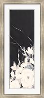 Black and White Floral I Fine-Art Print