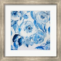 Blue and White Peonies Fine-Art Print