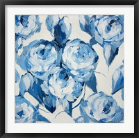 Blue and White Roses Fine-Art Print