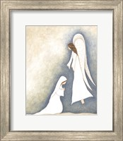 Mary and Angel Fine-Art Print