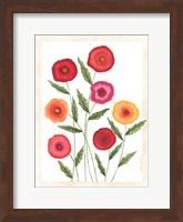 Bright Poppies I Fine-Art Print