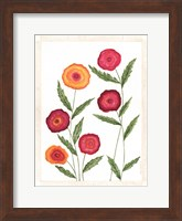 Bright Poppies II Fine-Art Print