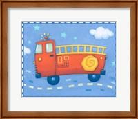 Blue Firetruck Fine-Art Print