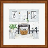 Upstate Farmhouse Bath I Fine-Art Print