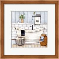 Upstate Farmhouse Bath II Fine-Art Print