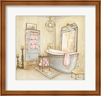 French Modern Bath I Fine-Art Print