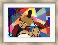 Jazz Drummer Fine-Art Print
