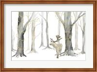 Christmas Forest landscape Fine-Art Print