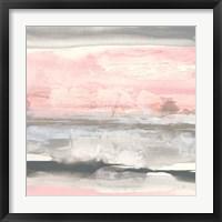 Charcoal and Blush II Fine-Art Print