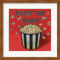 Enjoy the Show Red Fine-Art Print
