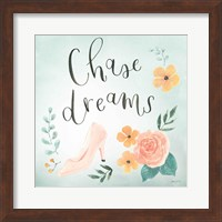 Chase Dreams I Green Fine-Art Print