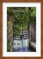 Elegant Canal Entrance Fine-Art Print